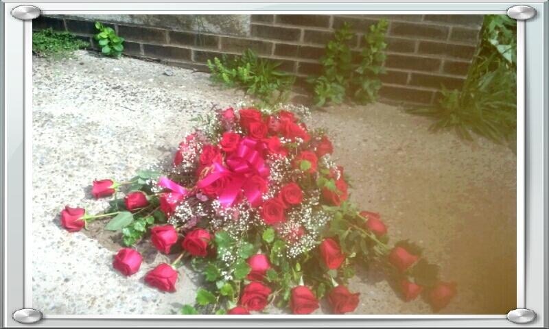 Little Falls Funeral Flowers Casket Spray Blanket
