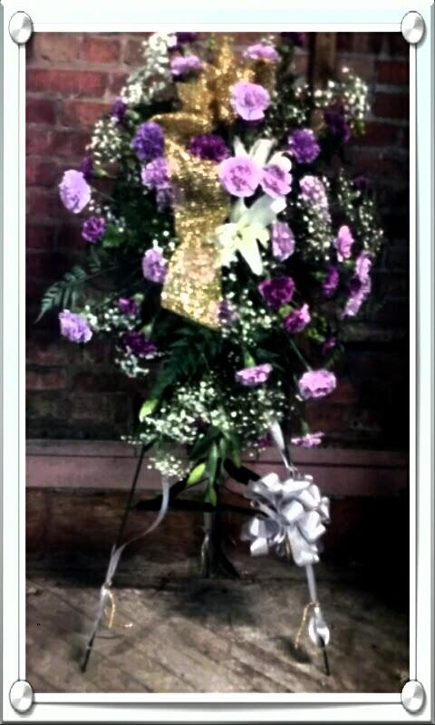 Sympathy Flowers Standing Sprays