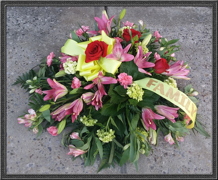 Sypathy and Funeral Flowers: Casket or Ground Spray