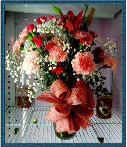 Pink Pastels - Flowers in Vase