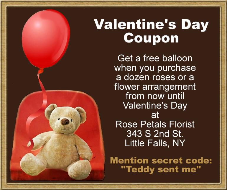 free balloon coupon