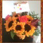 Little Falls Sunflower Centerpiece by Rose Petals Florist
