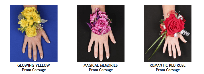 Wrist corsage prom flowers - group 5