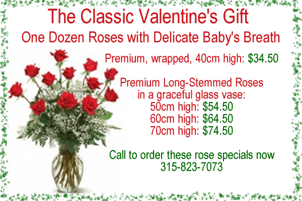 Valentine Roses Special Offers