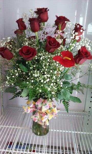 Regal Red Roses