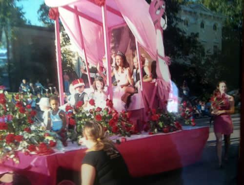 Parade Float by Rose Petals Florist, Little Falls, NY